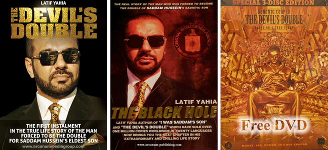 The Devil's Double and The Black Hole books by Latif Yahia