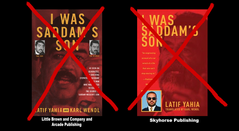 لطيف يحيى,Skyhorse Publishing and Little Brown & company are selling unofficial books with Latif Yahia name and picture on the cover DO NOT BUY THEM.